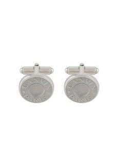 Lanvin logo button cufflinks