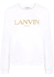 Lanvin logo-embroidered sweatshirt