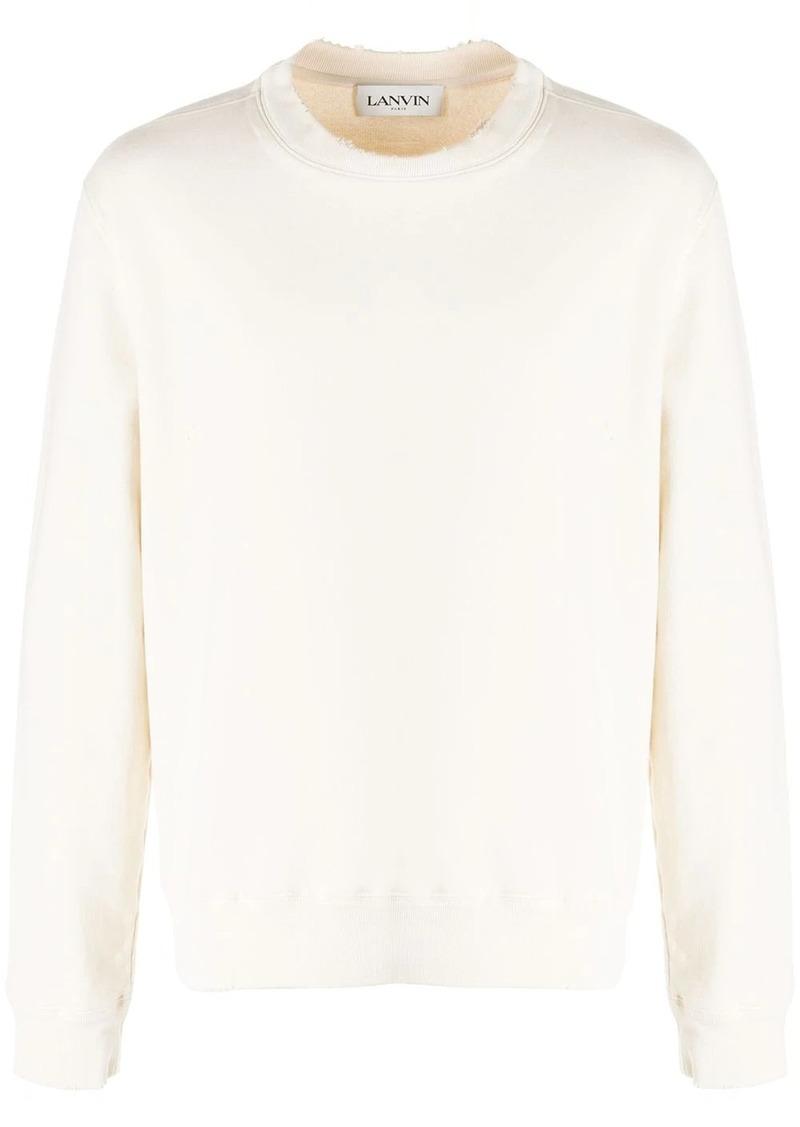 Lanvin logo print sweatshirt