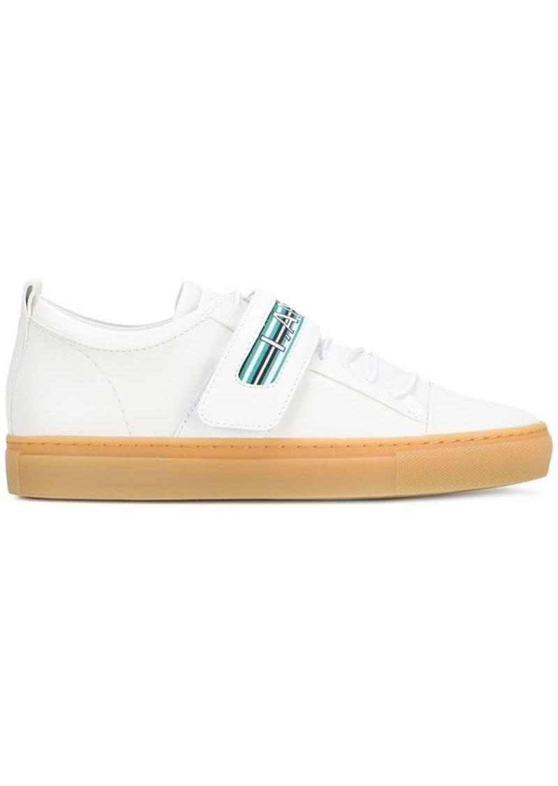 Lanvin logo touch-strap sneakers