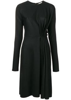 Lanvin long-sleeve midi dress