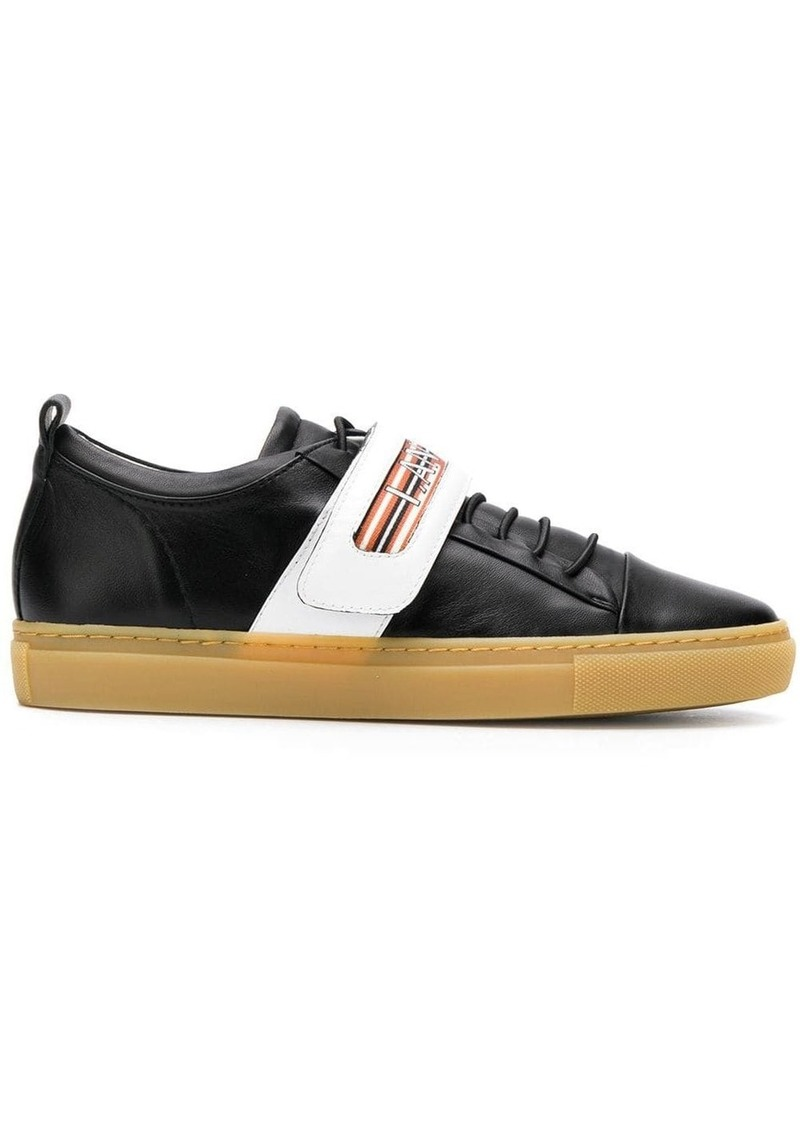 Lanvin low-top touch-strap sneakers