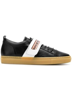 Lanvin low-top velcro strap sneakers