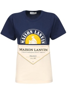 Mason Lanvin Cotton Jersey T-shirt