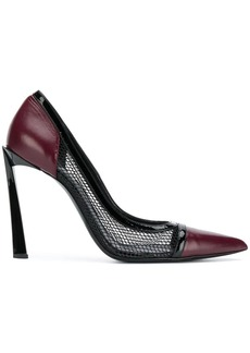 Lanvin mesh detail pumps