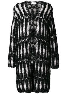 Lanvin metallic woven coat
