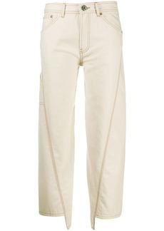 Lanvin mid-rise wide-leg trousers