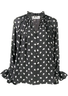 Lanvin Mother and Child long-sleeve blouse