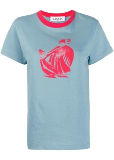 Lanvin Mother and Child motif T-shirt