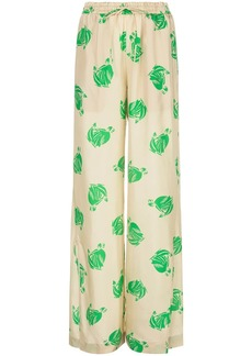 """Lanvin """"mother and child"""" palazzo trousers"""