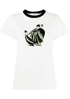 Lanvin Mother and Child print T-shirt