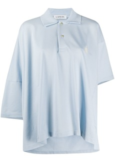 Lanvin oversized polo shirt