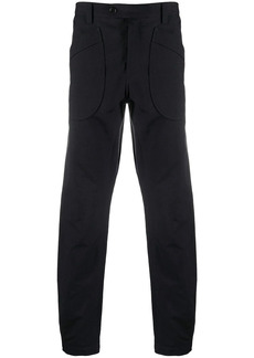 Lanvin oversized pockets straight-leg trousers
