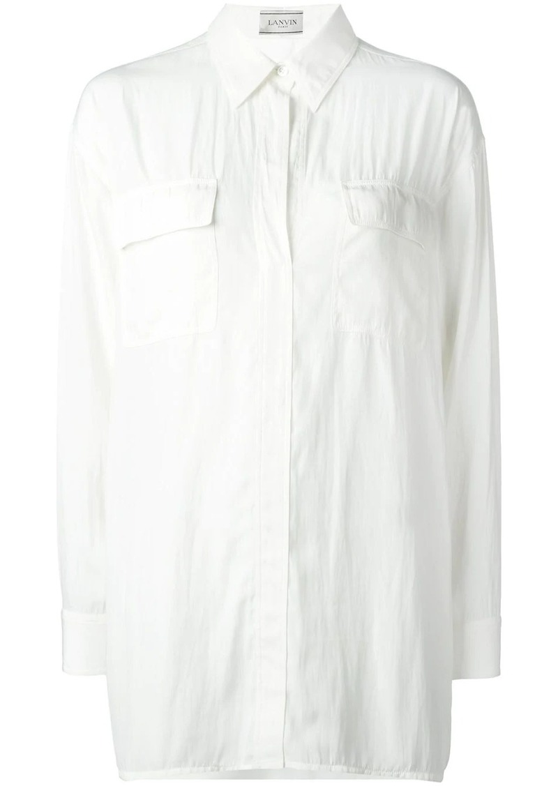 Lanvin oversized shirt