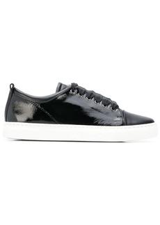 Lanvin patent tennis sneakers