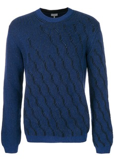 Lanvin patterned jumper