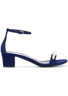 Lanvin pearl embellished sandals