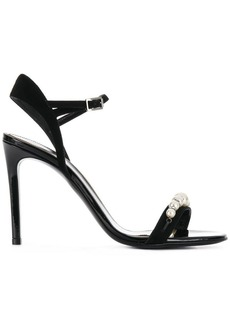 Lanvin pearl embellished sandals
