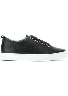 Lanvin perforated logo sneakers