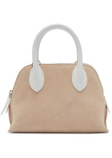 Lanvin Pink & White Mini Magot Bag