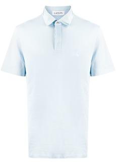 Lanvin piqué polo shirt