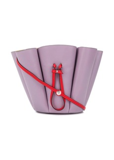 Lanvin pleated bucket bag