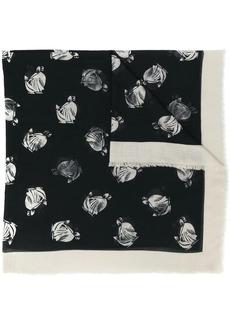 Lanvin printed scarf
