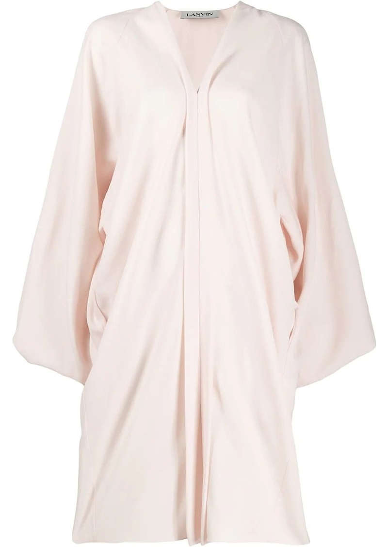 Lanvin puff sleeve dress