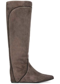 Lanvin pull-on contrast panel boots