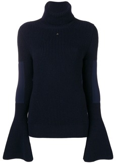Lanvin ribbed turtle-neck sweater