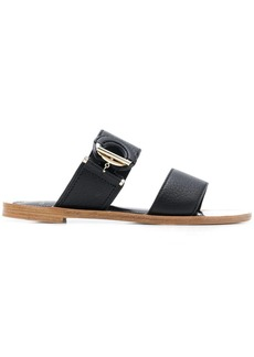 Lanvin ring-detail flat sandals