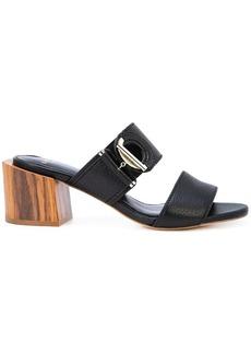 Lanvin ring detail sandals