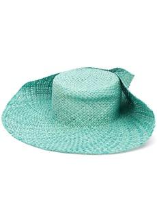 Lanvin rivet embellished hat