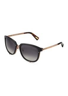 Lanvin Round Acetate/Metal Sunglasses