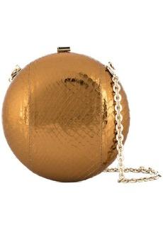 Lanvin round box clutch bag