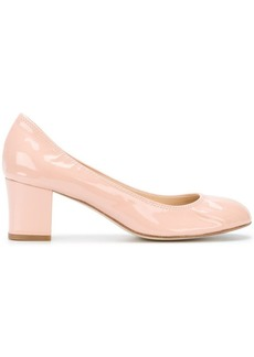 Lanvin round toe pumps