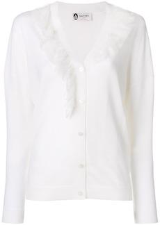 Lanvin ruffle detail cardigan