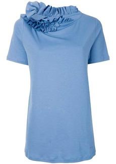 Lanvin ruffle trim T-shirt