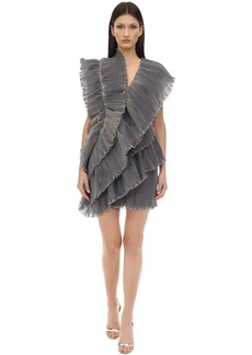 Lanvin Ruffled Tiered Dress