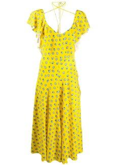 Lanvin seashell print dress