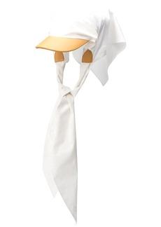 Lanvin sheet baseball cap