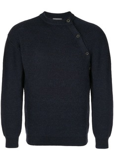 Lanvin side buttons jumper