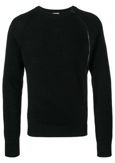 Lanvin side zip sweater