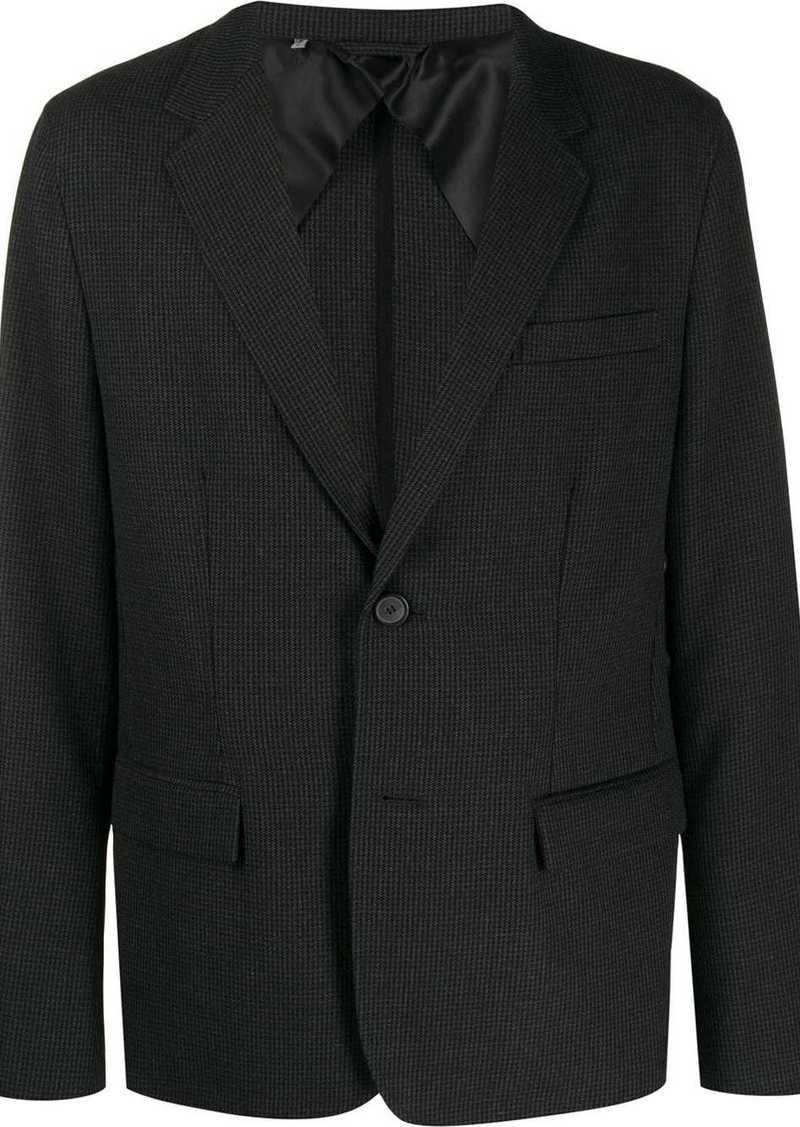 Lanvin single-breasted check blazer