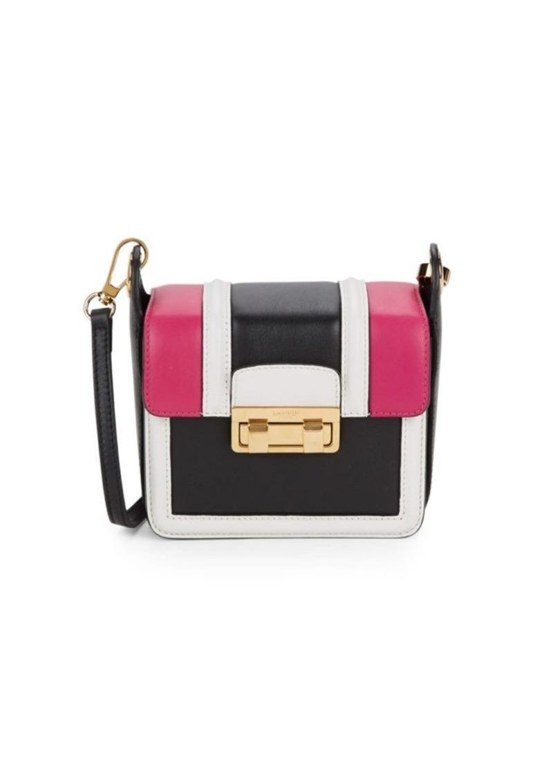 6545ee3e37b2 Lanvin Small Lala Leather Crossbody Mini Bag | Handbags