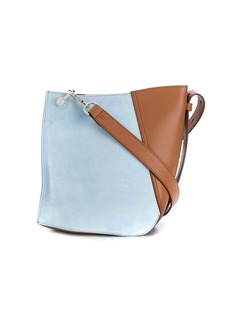 Lanvin small two-toned Hook bag