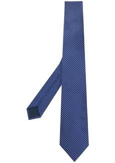 Lanvin squares patterned tie