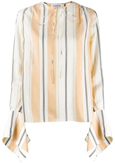 Lanvin statement sleeve blouse