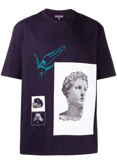 Lanvin statue print T-shirt