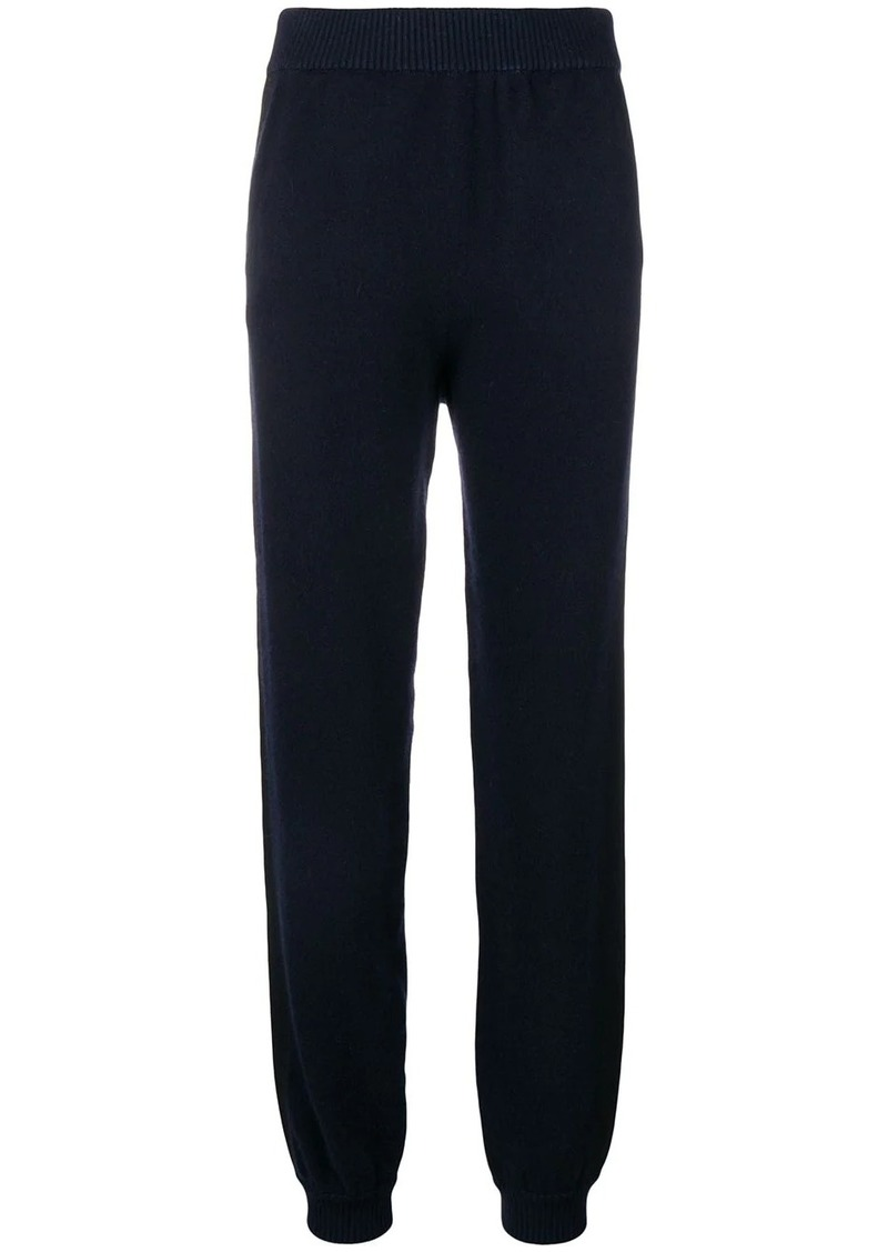 Lanvin straight-leg knitted trousers